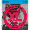D'Addario EXL145 Nickel Wound Heavy Plain 3rd,  Cal. 12-54