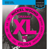 D'Addario EXL170-5 5 cordes basse cordes de guitare, Light 45-130, Long