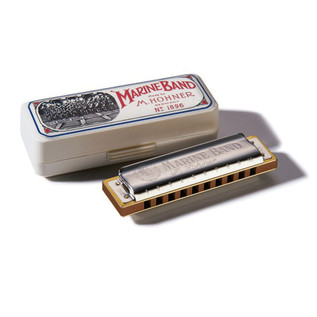 Hohner M1896026 Marine Band 1896 Classic Harmonica - Key Of Db