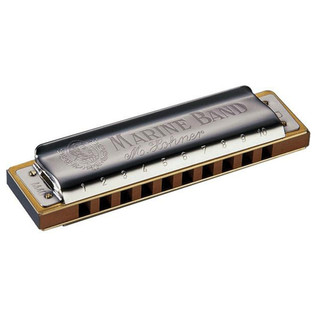 Hohner Marine Band 1896 Classic Harmonica - Key Of E