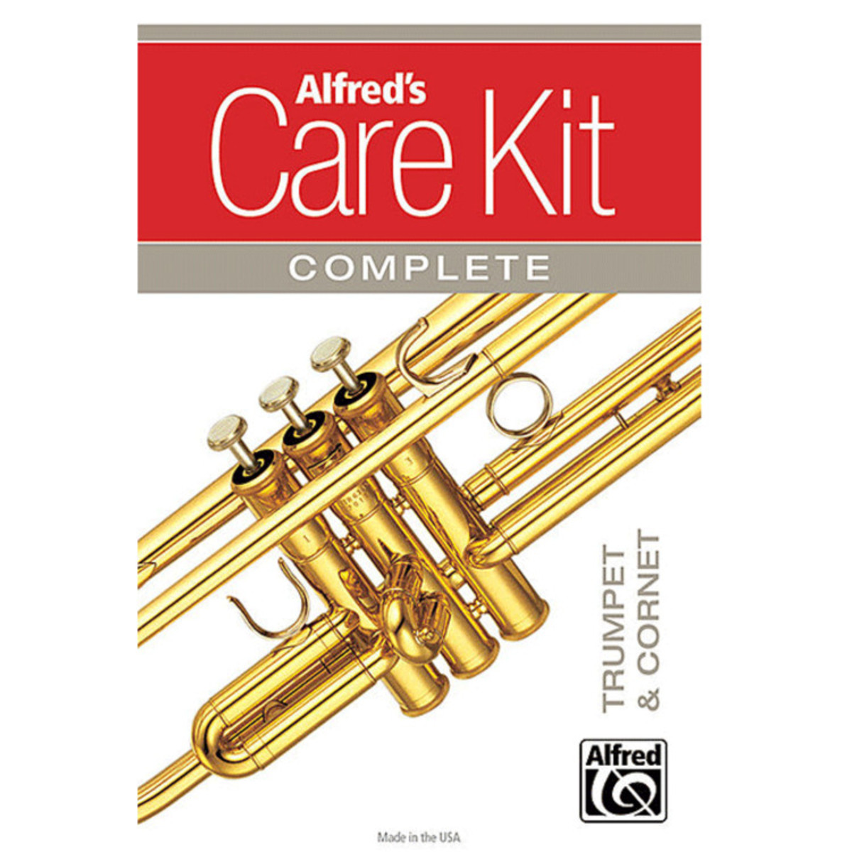 Click to view product details and reviews for Alfreds Complete Silver Plated Trumpet Cornet Care Kit.