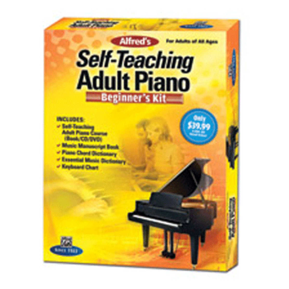Click to view product details and reviews for Alfreds Self Teaching Adult Piano Beginners Kit.