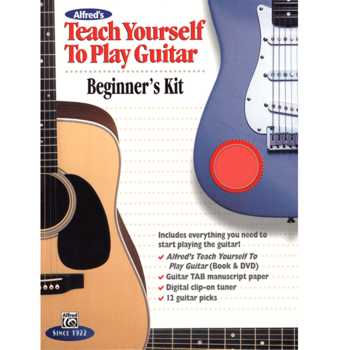 Alfreds teach yourself to play guitar beginners kit na gear4music alfreds teach yourself to play guitar beginners kit loading zoom ccuart Images