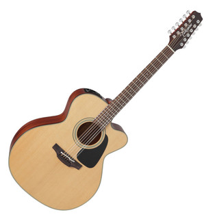 Takamine Pro Series P1JC Jumbo C/A 12-String Electro Acoustic Guitar