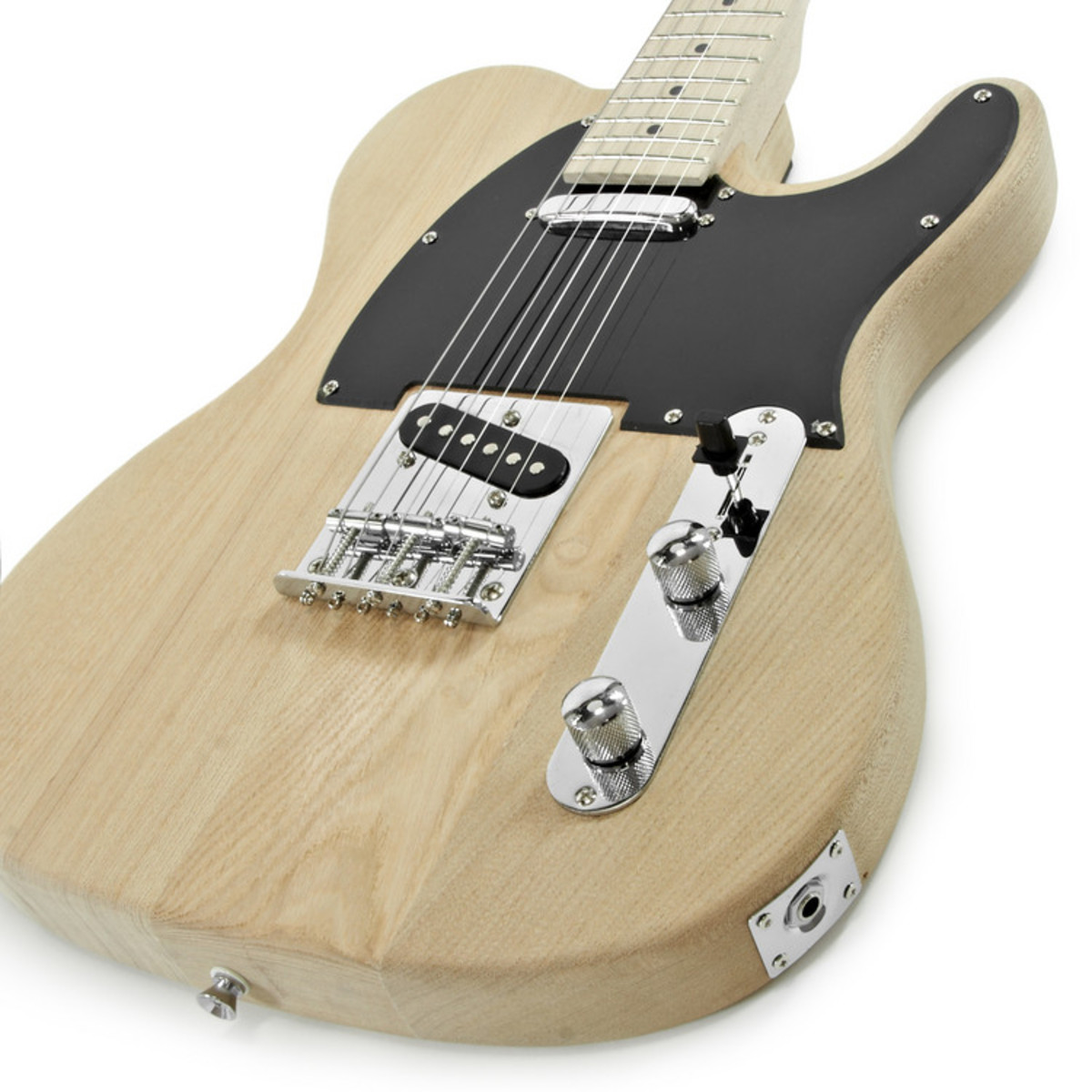 knoxville electric guitar diy kit ash body at gear4music. Black Bedroom Furniture Sets. Home Design Ideas