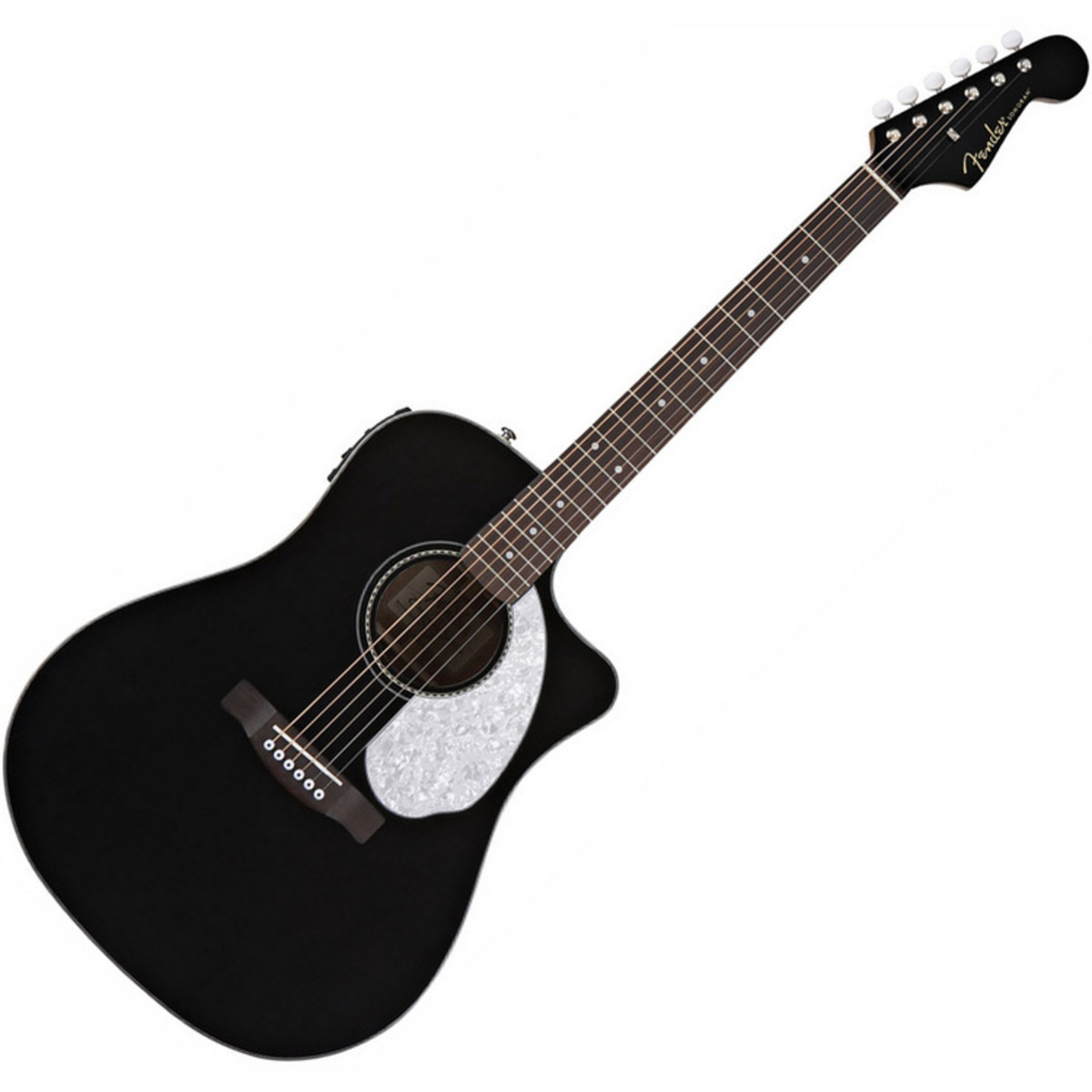 Fender Sonoran SCE V2 Electro Acoustic Guitar Black