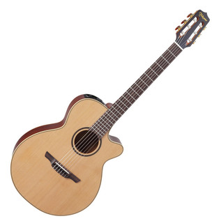 Takamine Pro Series P3FCN FXC Cutaway Nylon Electro Acoustic Guitar
