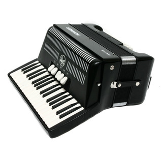 Hohner Bravo III 72 Accordion, Black with Gig Bag
