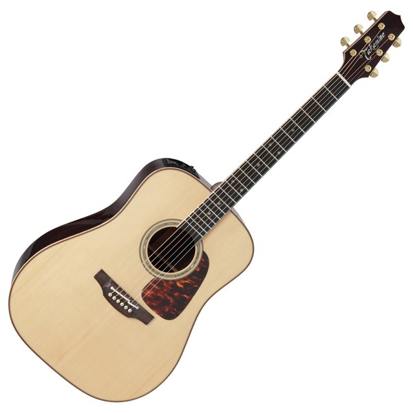 Takamine Pro Series P7D Dreadnought Electro Acoustic Guitar, Natural
