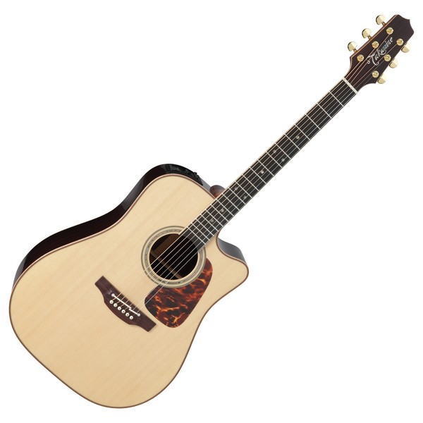 Takamine Pro Series P7DC D. Cutaway Electro Acoustic Guitar, Natural