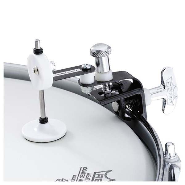 Remo Weckl Active Snare Head Dampening System