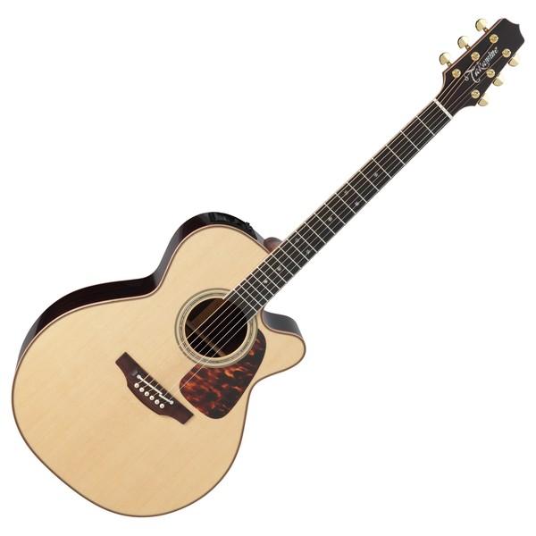 Takamine Pro Series P7NC NEX Cutaway Electro Acoustic Guitar, Natural