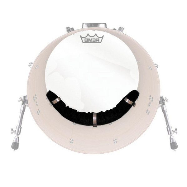 Remo 20 Inch Weckl Adjustable Muffling System for Bass Drum Head