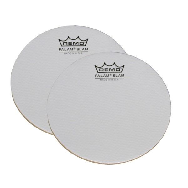 Remo 4 Inch Falam Slam Pads for Bass Drum Head