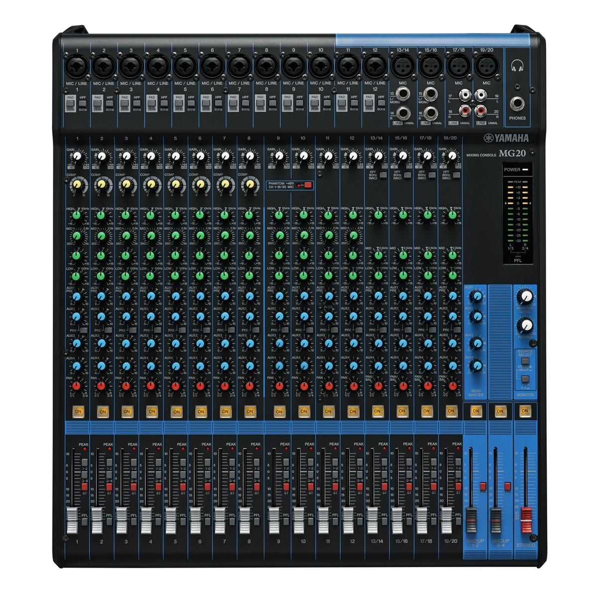 Yamaha  Channel Analog Console