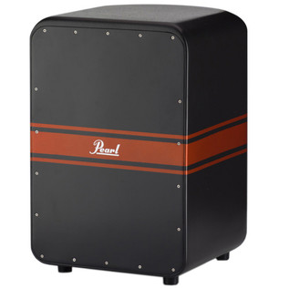 Pearl PCJ-647CYC Cyclone Cajon, Black and Red