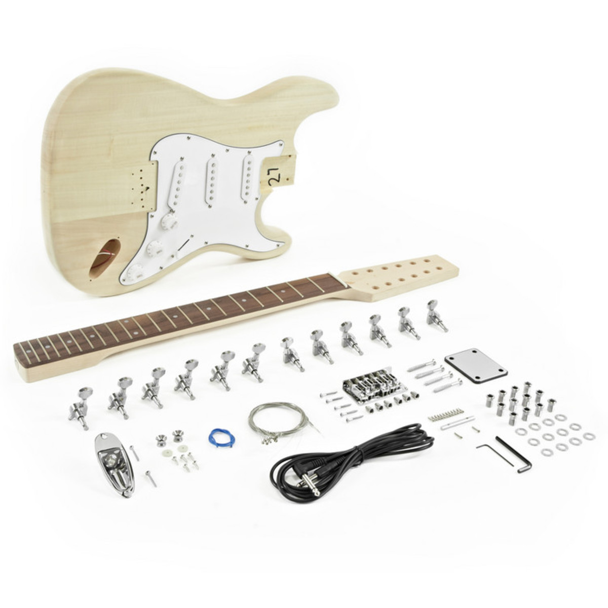 12 string la electric guitar diy kit at gear4music. Black Bedroom Furniture Sets. Home Design Ideas