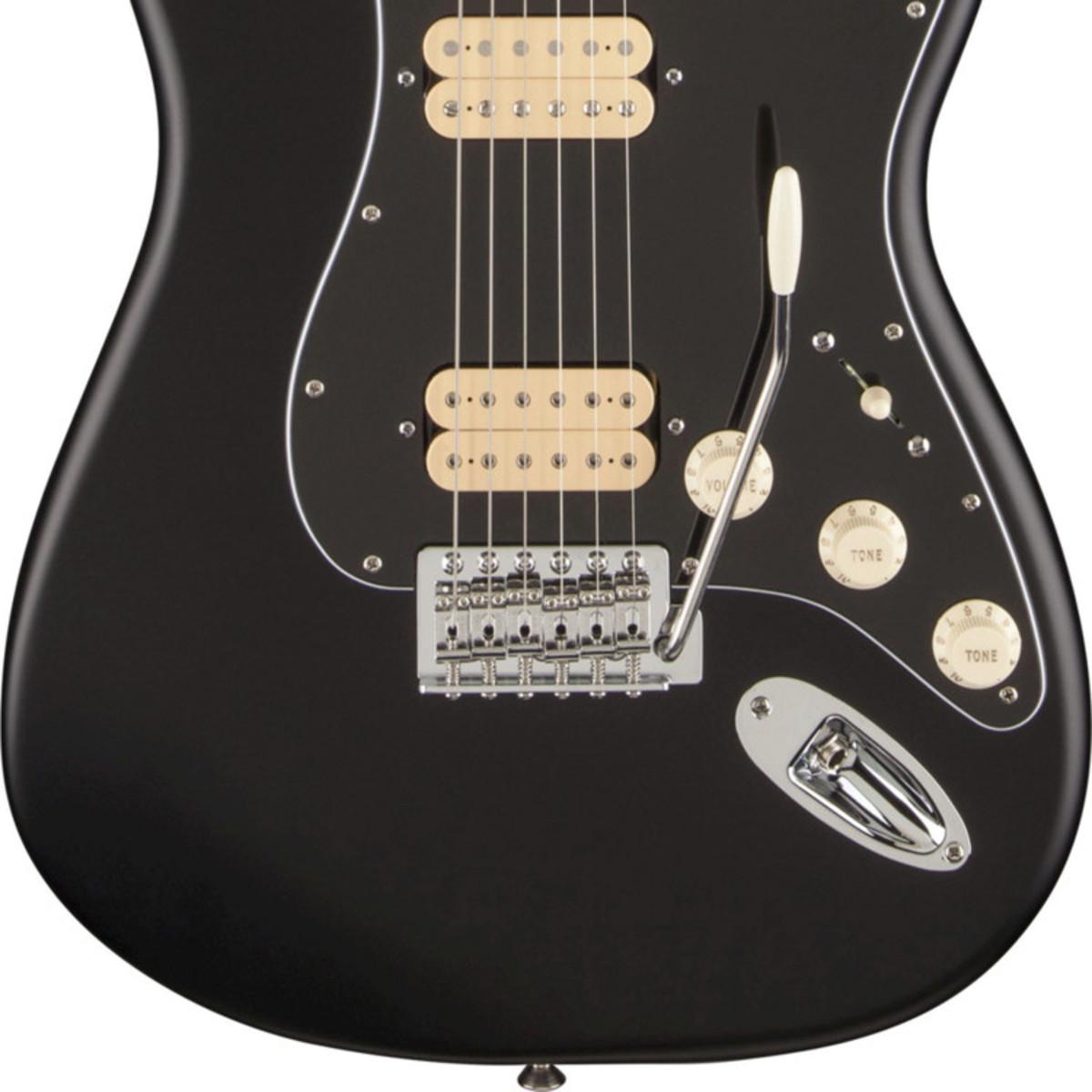 Fender Fsr Hot Rod Strat Hh Mn Flat Black At Gear4music Dimarzio Super Distortion Wire Wiring