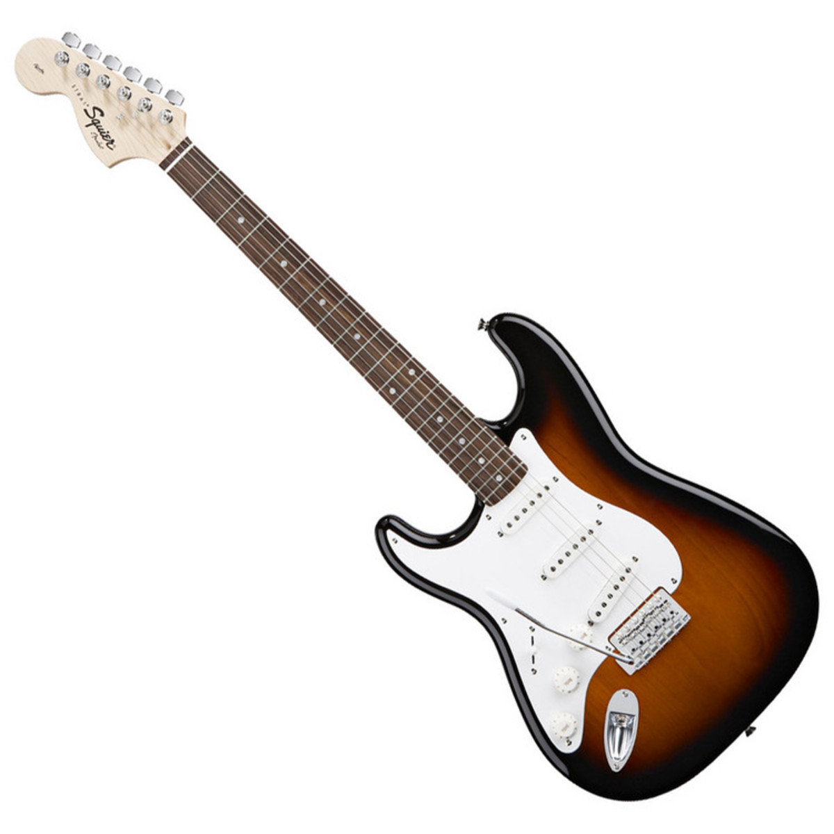 squier affinity strat l h mn brown sunburst nearly new at gear4music. Black Bedroom Furniture Sets. Home Design Ideas