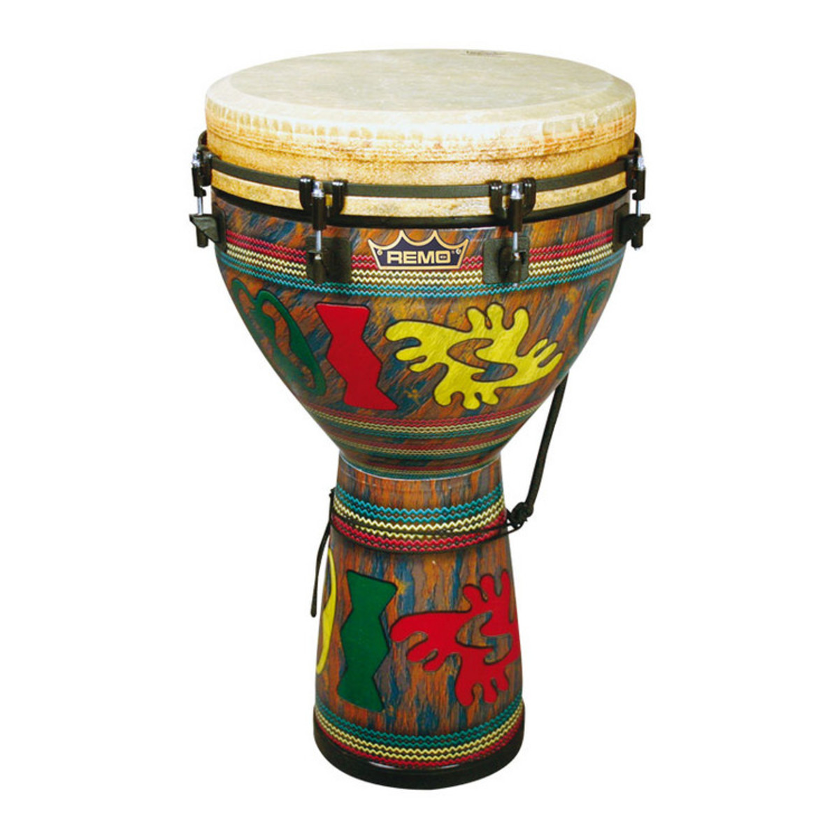Click to view product details and reviews for Remo 14 Inch Djembe Adinkra Fabric Finish.