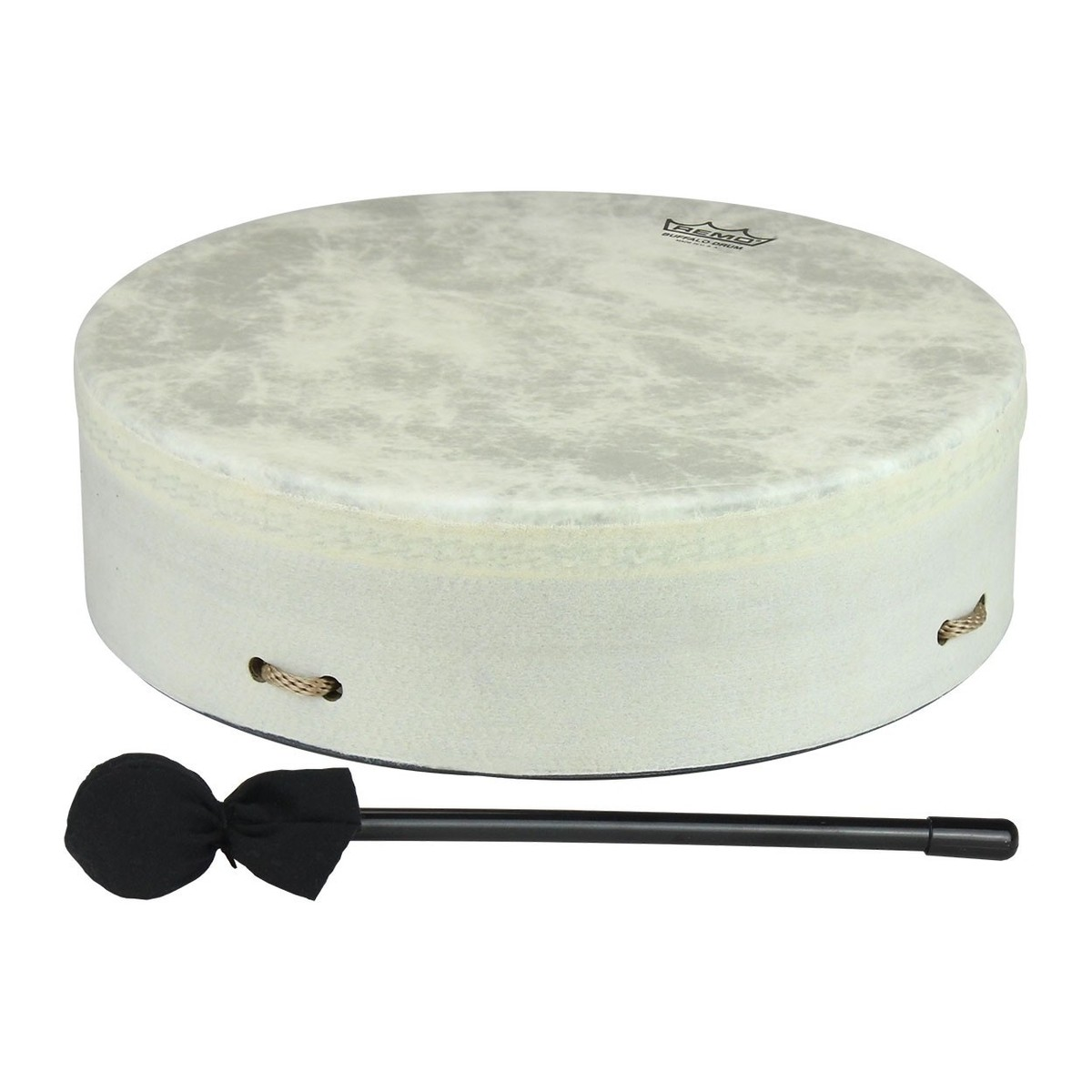 Click to view product details and reviews for Remo 10 X 35 Standard Buffalo Drum White.