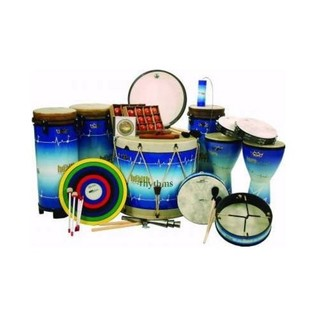 Remo Health Rhythms 18 Piece Percussion Set