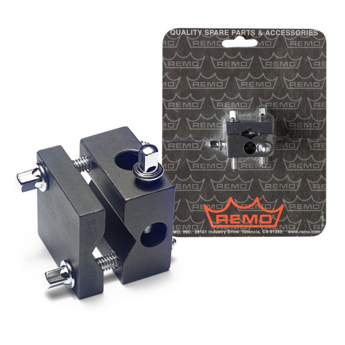 Disc Remo Universal Rototom Adapter Clamp At Gear4music