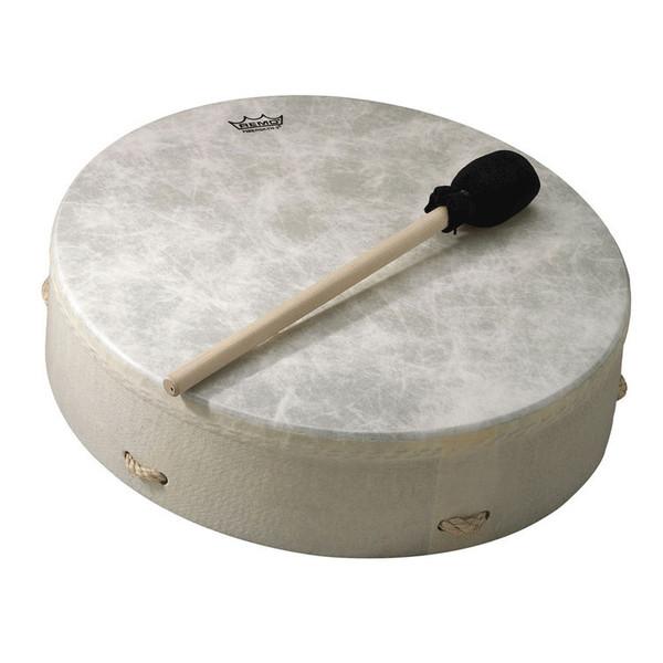 Remo Standard Buffalo Drum 3.5 Inch x 12 Inch, White