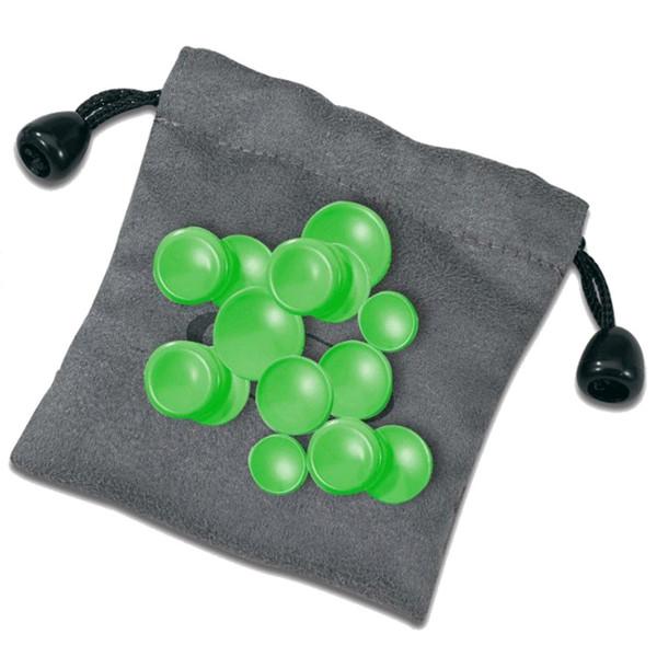 Nuvo jFlute Key Cap Set, Green