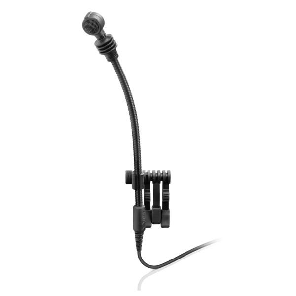 Sennheiser e608 Woodwind/Brass/Drum Gooseneck Microphone - Front Angled