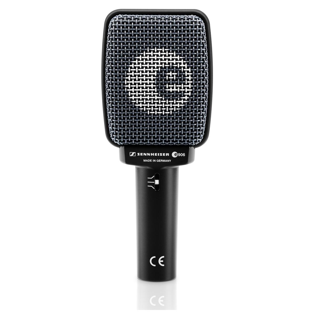 sennheiser e906 dynamic instrument microphone at gear4music. Black Bedroom Furniture Sets. Home Design Ideas