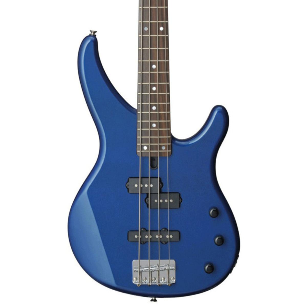 Yamaha trbx174 bass guitar dark metallic blue at gear4music for Yamaha bass guitars