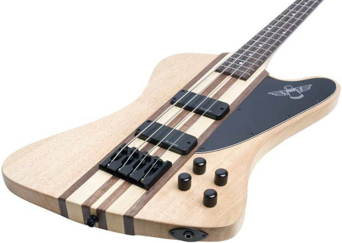 epiphone thunderbird pro iv bass 4 string natural nearly new at gear4music. Black Bedroom Furniture Sets. Home Design Ideas