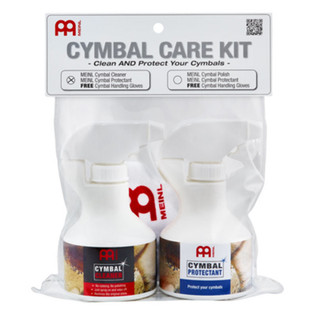 Meinl Cymbal Care Kit, Includes Cleaner and Protectant
