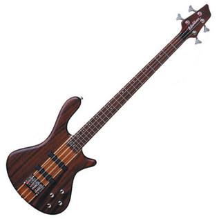 Washburn Taurus T24 Bass Guitar, Natural Mahogany
