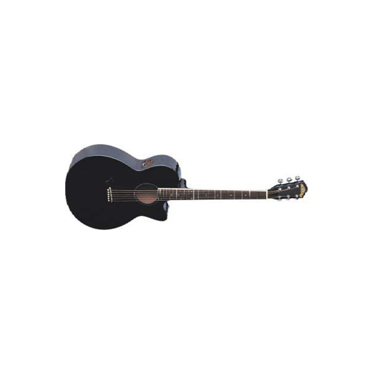 Washburn Ea16 Electro Acoustic Black At Gear4music