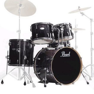 Pearl Vision Maple VML 22'' Rock Shell Pack, Ash Fade Tamo