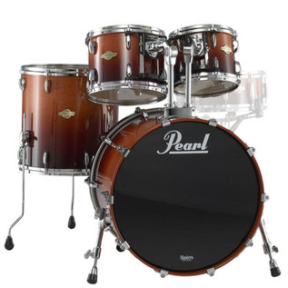 Pearl Masters Maple MCX 22 Inch Fusion Shell Pack, Chestnut Fade