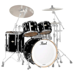 Pearl Masters Premium Legend 22 Am. Fusion Shell Pack, Piano Black