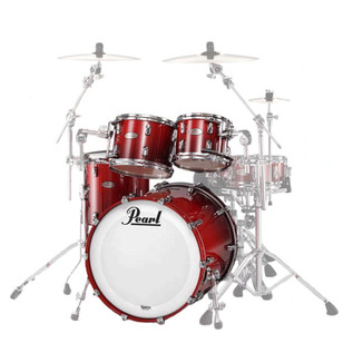Pearl Masters Premium Legend 22'' Fusion Shell Pack, Scarlet Fade