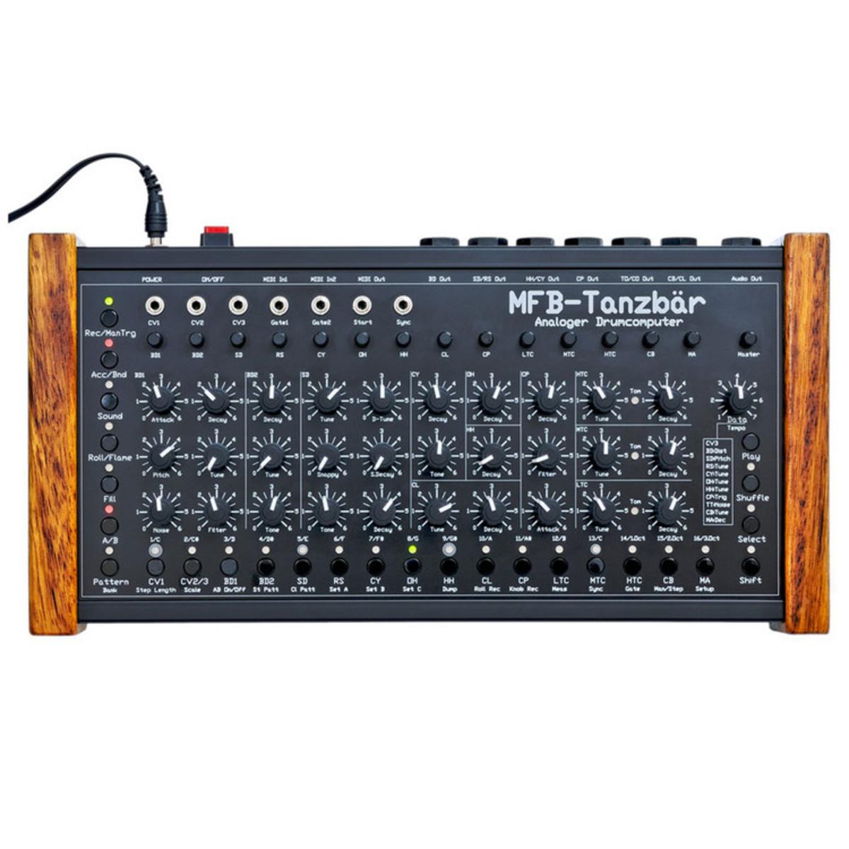 mfb tanzb r analog drum machine at gear4music. Black Bedroom Furniture Sets. Home Design Ideas