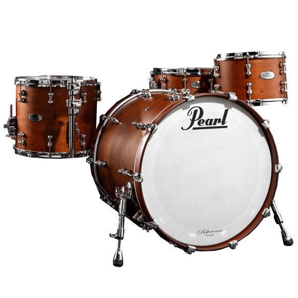 pearl reference pure 20 39 39 fusion shell pack matte walnut at gear4music. Black Bedroom Furniture Sets. Home Design Ideas
