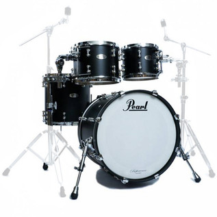 Pearl Reference Pure 22 Inch Fusion Shell Pack, Matte Black