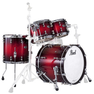 Pearl Reference Pure 22 Inch Fusion Shell Pack, Scarlet Sparkle Burst