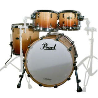 Pearl Masters Premium Maple 22'' Fusion Shell Pack, Sunrise Fade