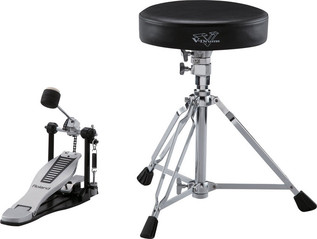 Roland DAP-3X Stool, Pedal & Sticks Main
