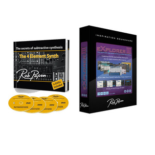 Rob Papen eXplorer III and Secrets of Subtractive Synthesis Bundle