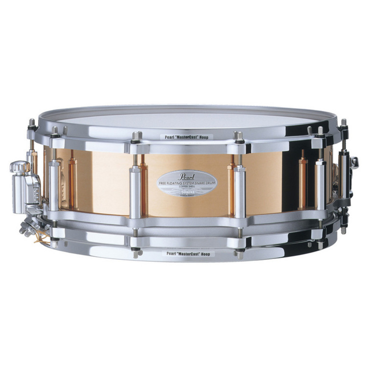 pearl fc1450 free floating 14 39 39 x 5 39 39 snare drum copper at gear4music. Black Bedroom Furniture Sets. Home Design Ideas