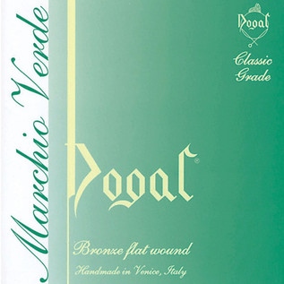 Dogal Violin String Set, 1/8 to 1/16 Green Label