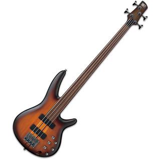 Ibanez SRF700 Bass Guitar, Brown Burst Flat